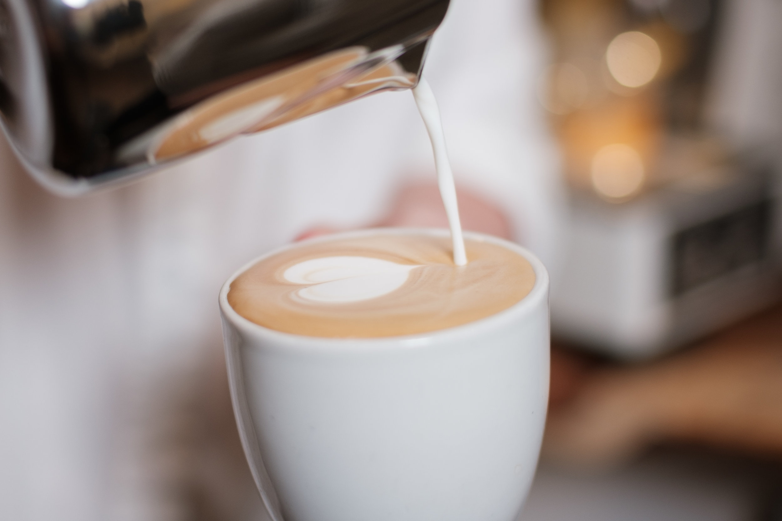 Milk Steaming & Latte Art -