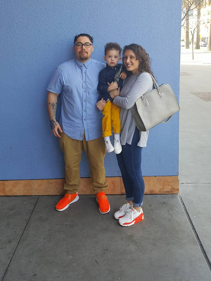 My beautiful wife Tara and son Neilson