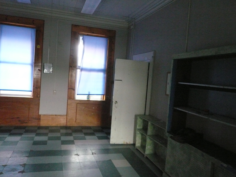 Living Room that once was a classroom