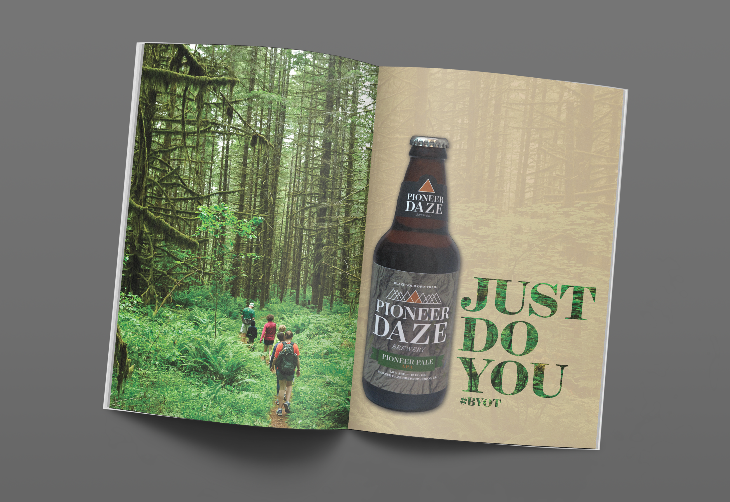 PIONEER DAZE |  Magazine Spread