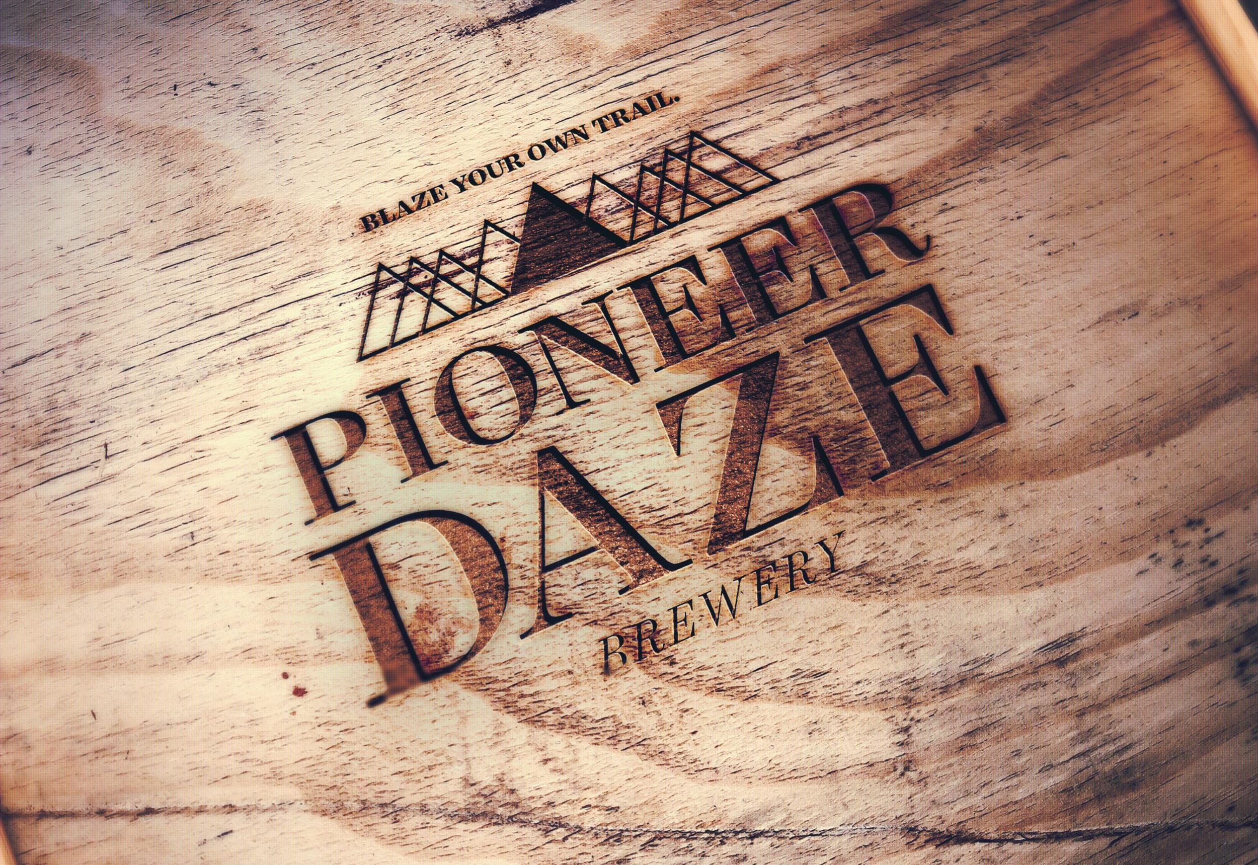 PIONEER DAZE |  Wood Engraving