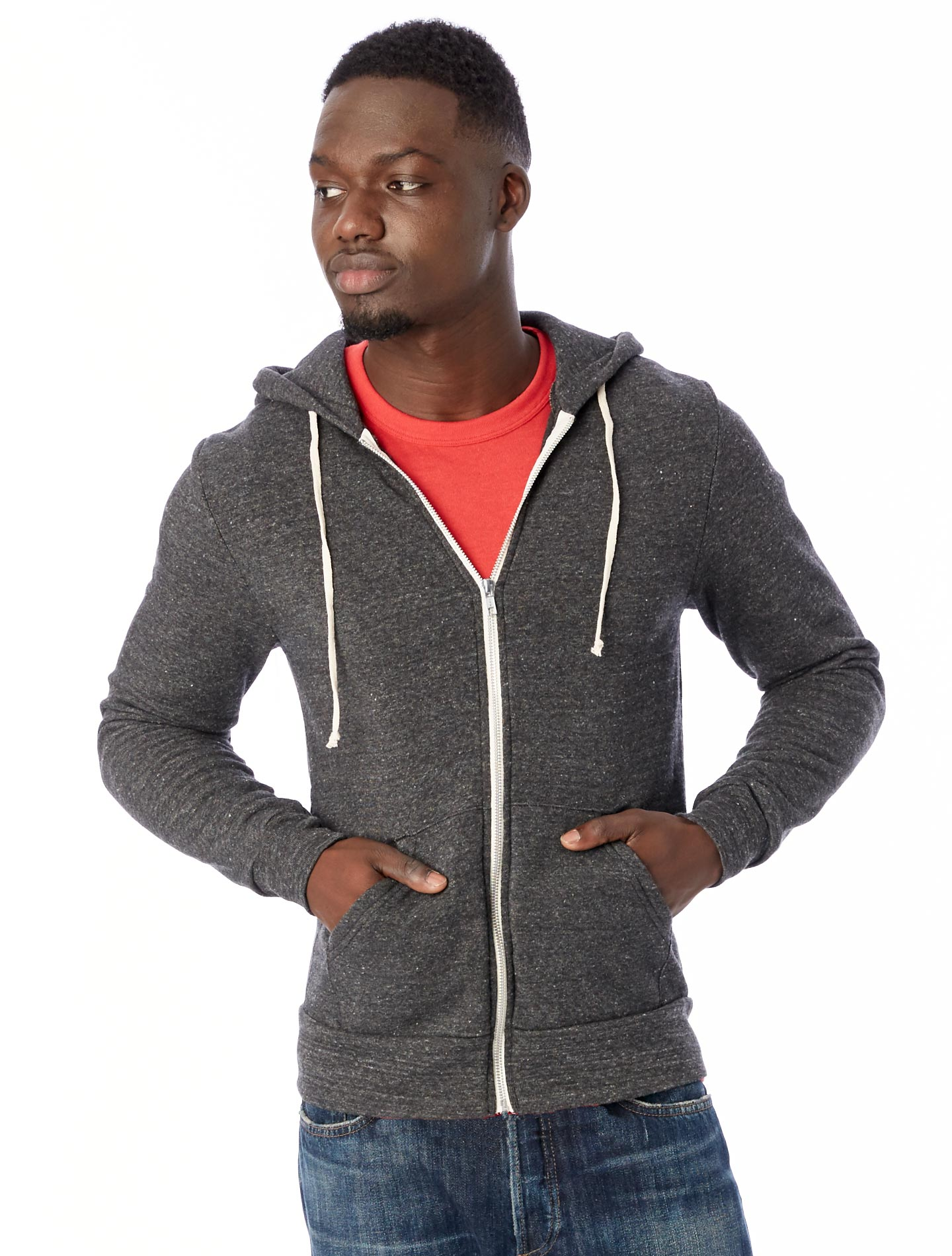 Shown Above: Eco Zip fleece