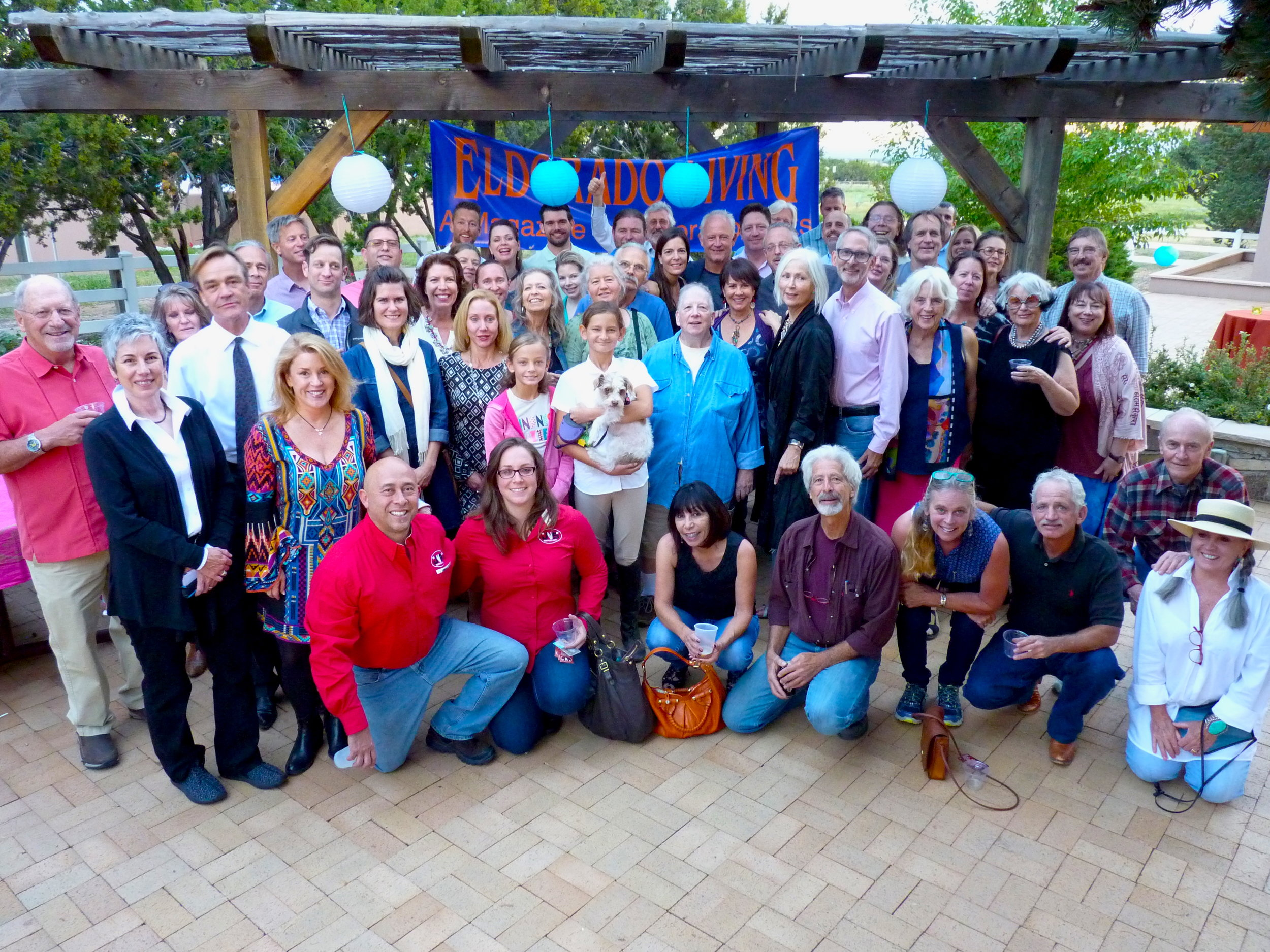 Eldorado Living's Launch Party, September 2016, brought together residents and advertisers to celebrate!