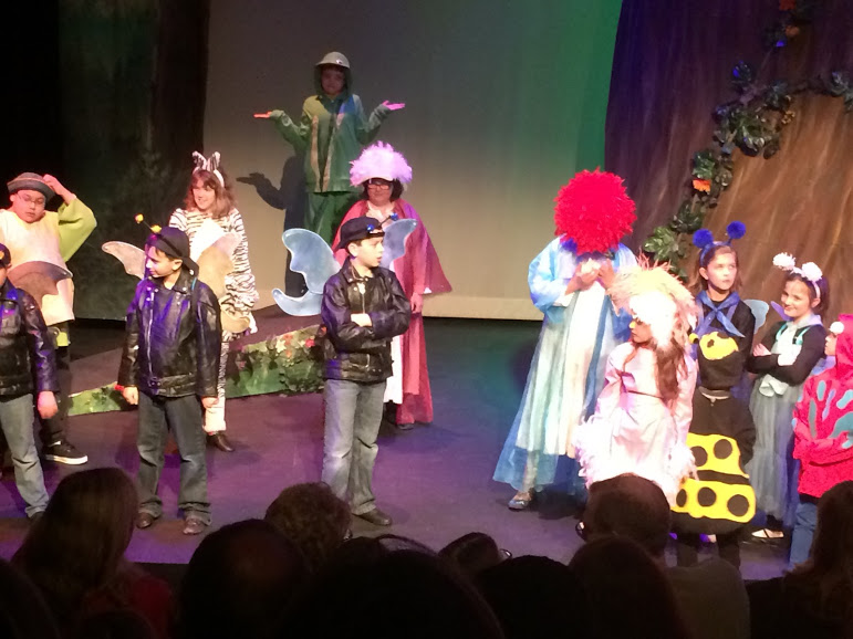 "Showing our support at a recent showing of VSA's ""Spectrums Journey"". We helped fund the costumes for this wonderful organization."