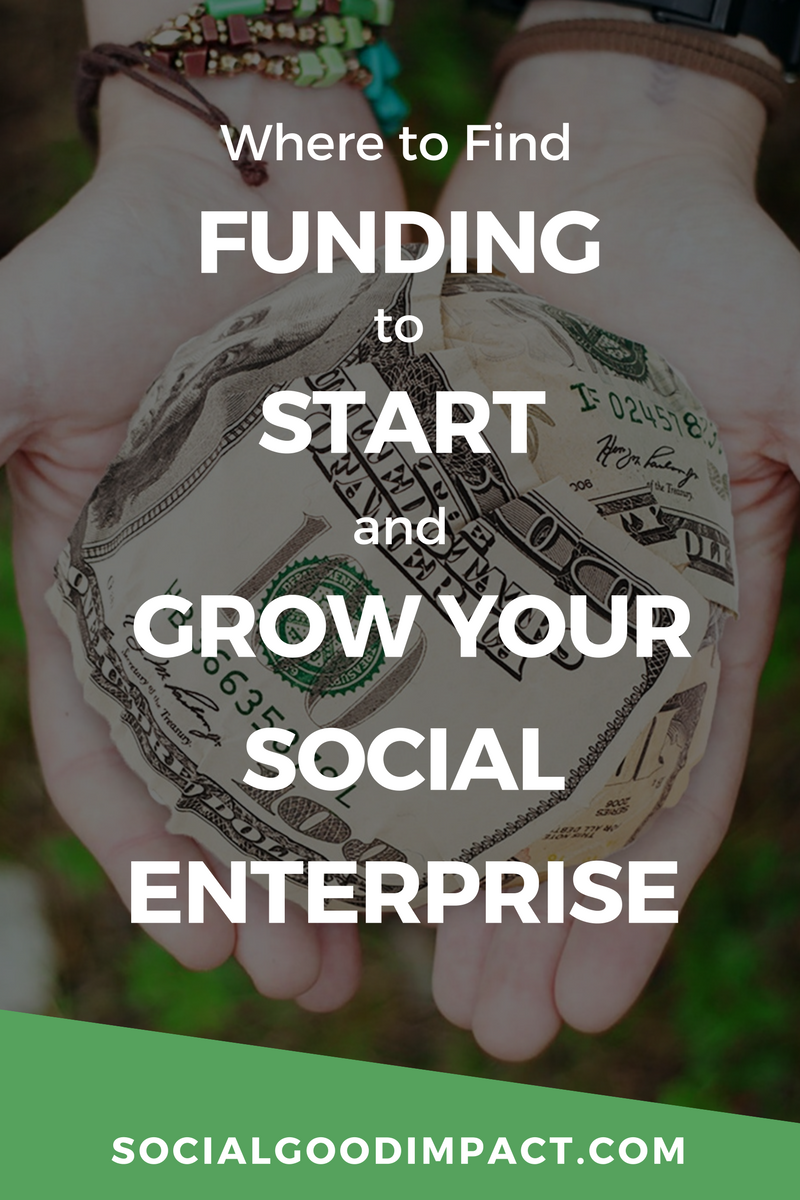 Looking for funding for your social enterprise? Find start-up and growth funding options for your social enterprise RIGHT HERE!