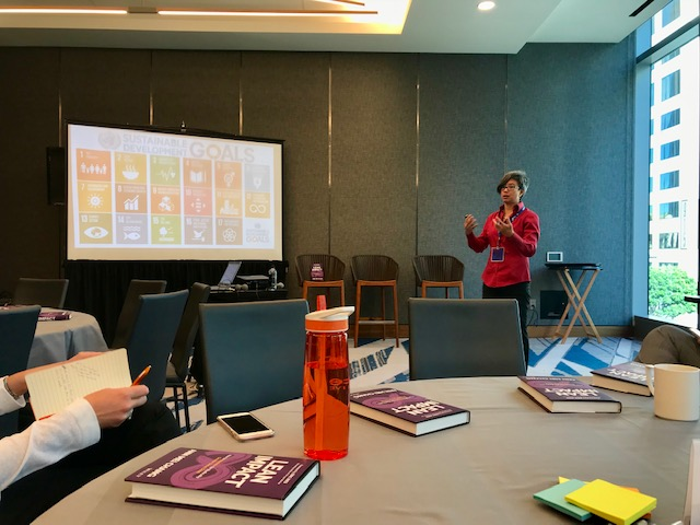 Lean Impact session at Upswell 2018 with Ann Mei Chang.