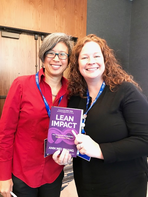 Ann Mei Chang and Beth Palm at Upswell 2018