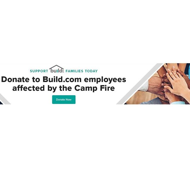 Not everyone has festive, snowy weather today - take a moment to support those who support us throughout the year! https://www.build.com/donate  #donate #campfire #builder #home #interiors #homes #homesweethome #homeinspo #interiors #developer #building