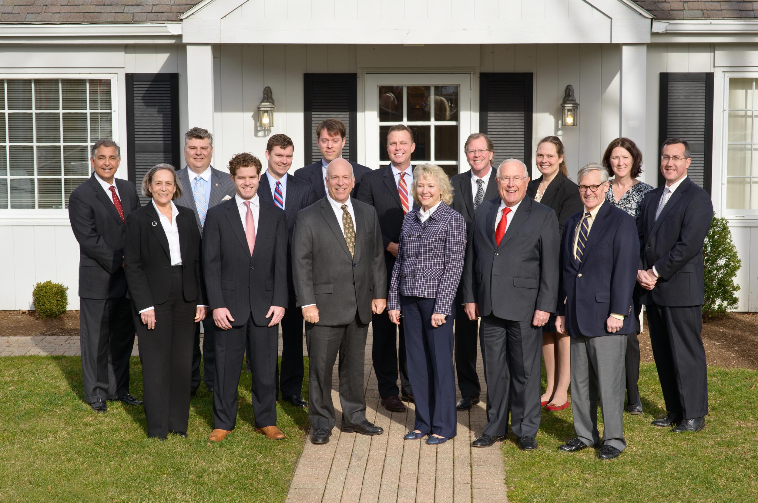 Morgan Stanley group portrait