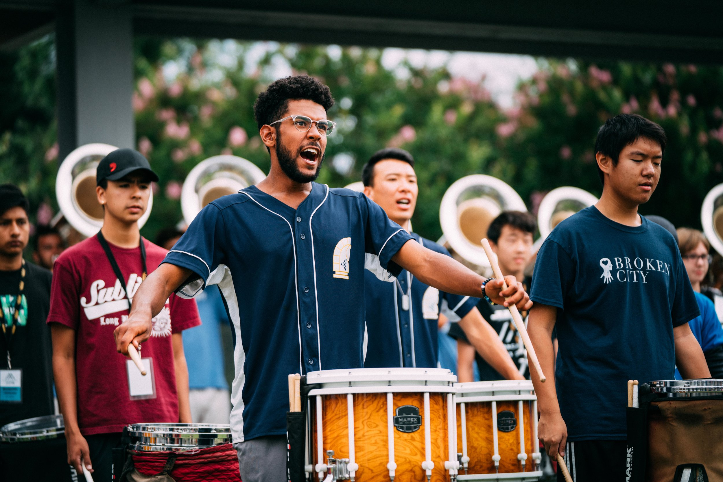 Go inside a world class DCI rehearsal as they prepare forDCI at the Rose Bowl -