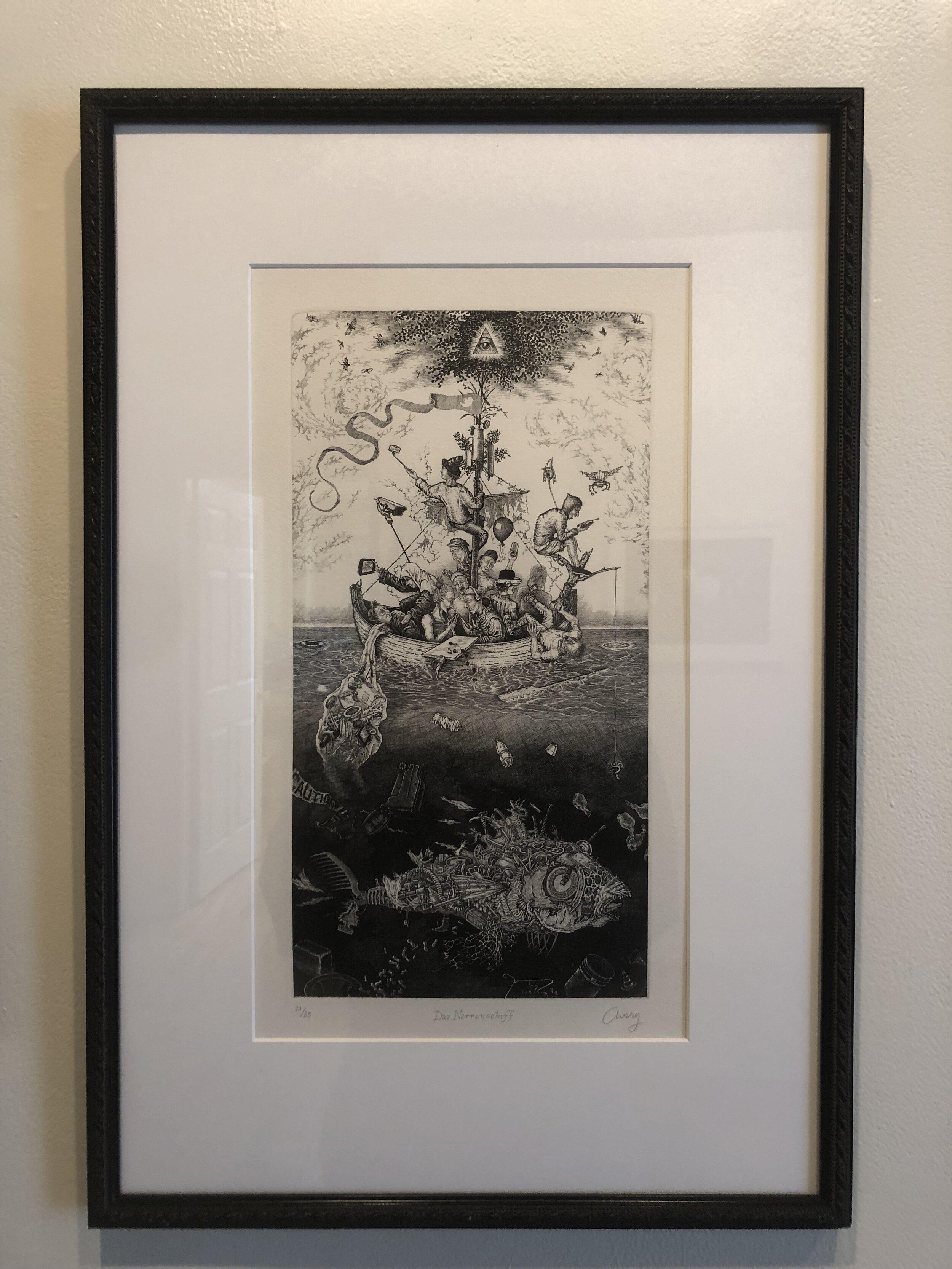 Das Narrenschiff by David Avery