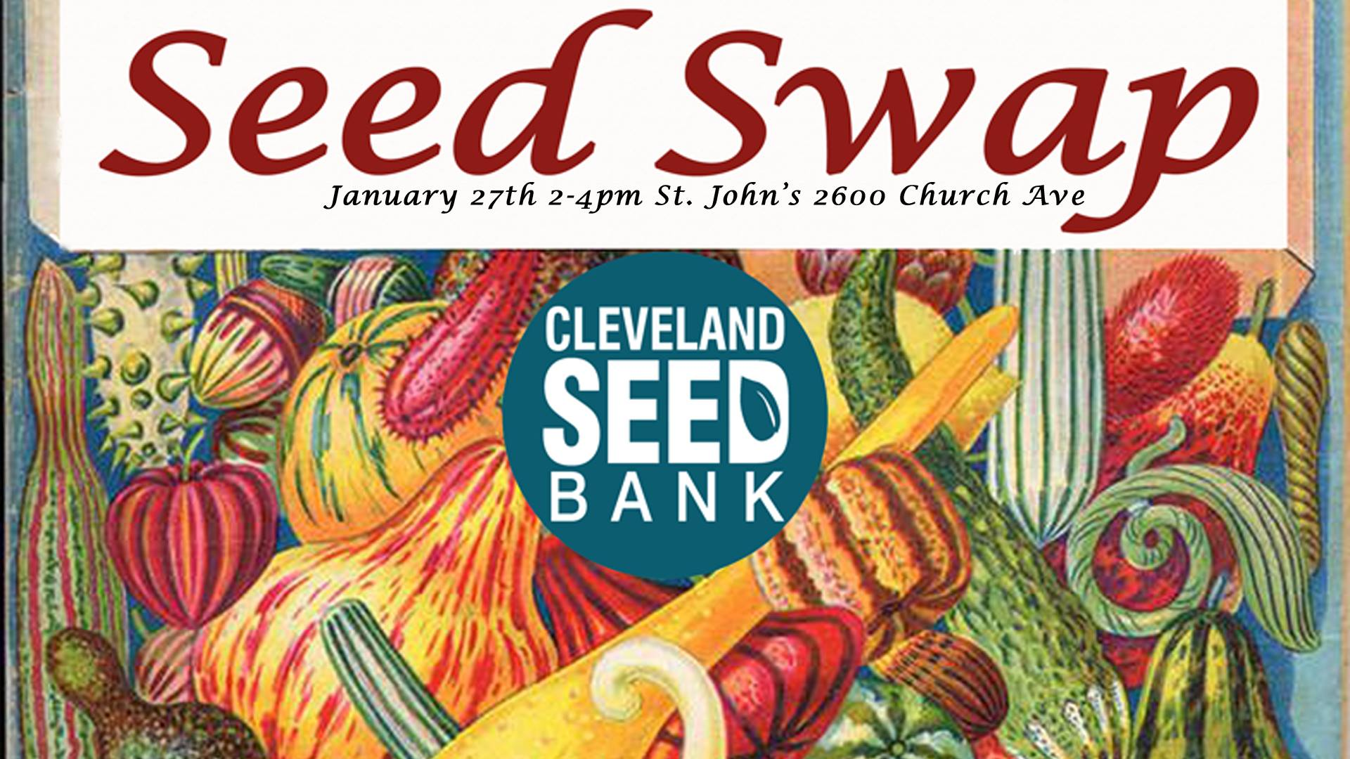The Seed Swap is free and open to the public.No seeds are required to join in the festivities.Here's the link to their Facebook page with all the details: https://www.facebook.com/events/132674880685568/ .