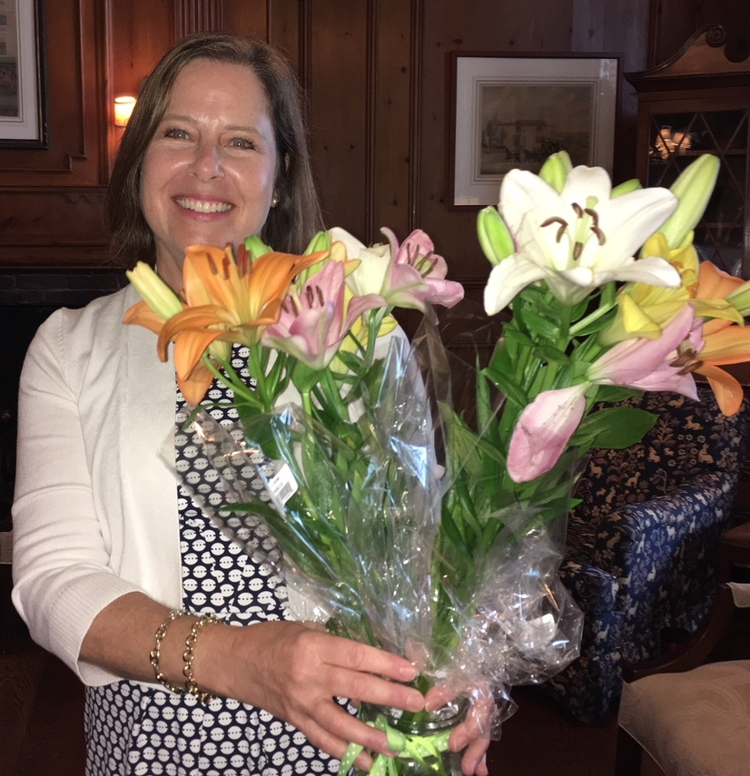Thank you, Sarah, for two years of dedicated service as president of Shaker Lakes Garden Club!