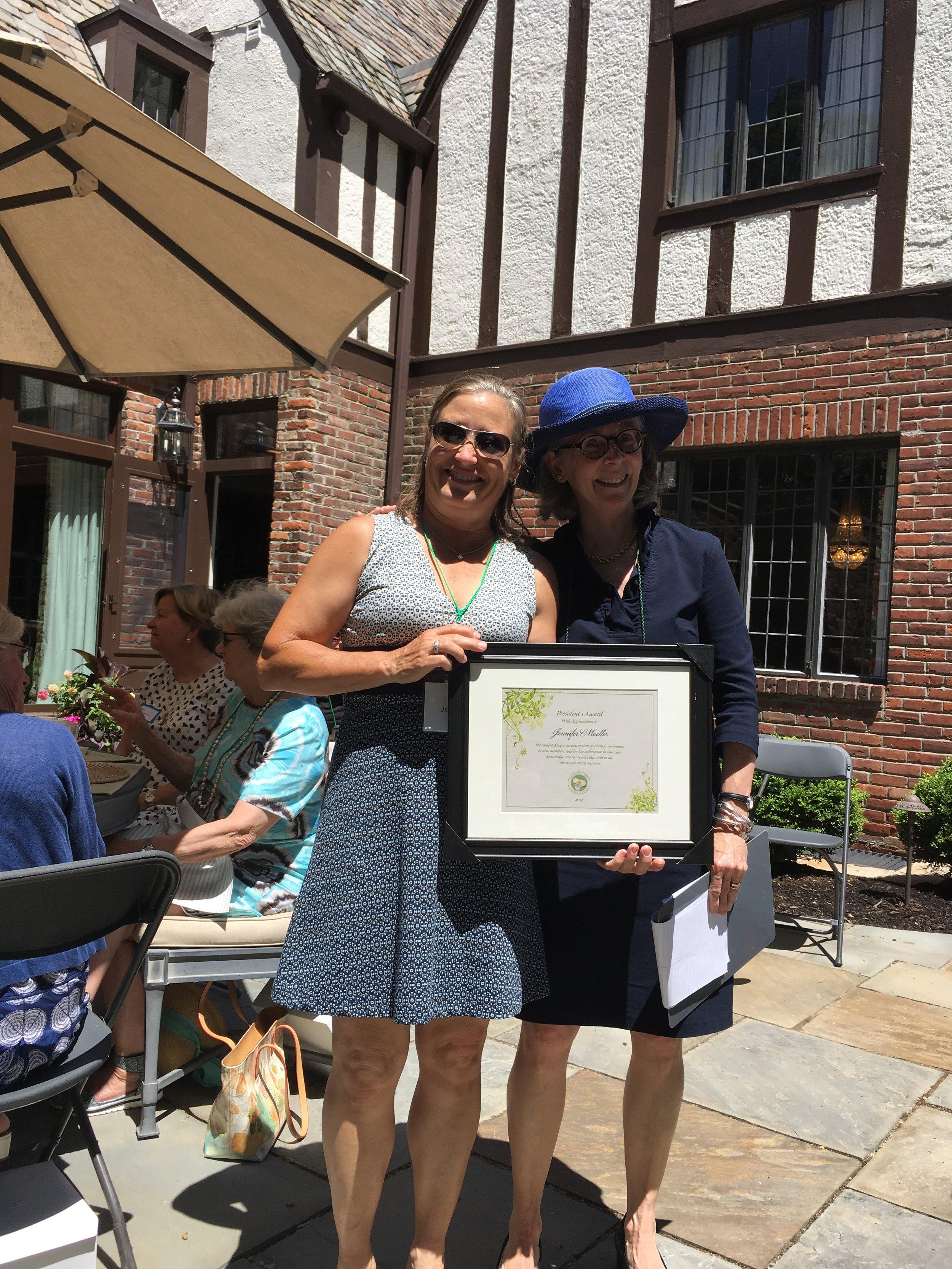 Jennifer Moeller - President's Award