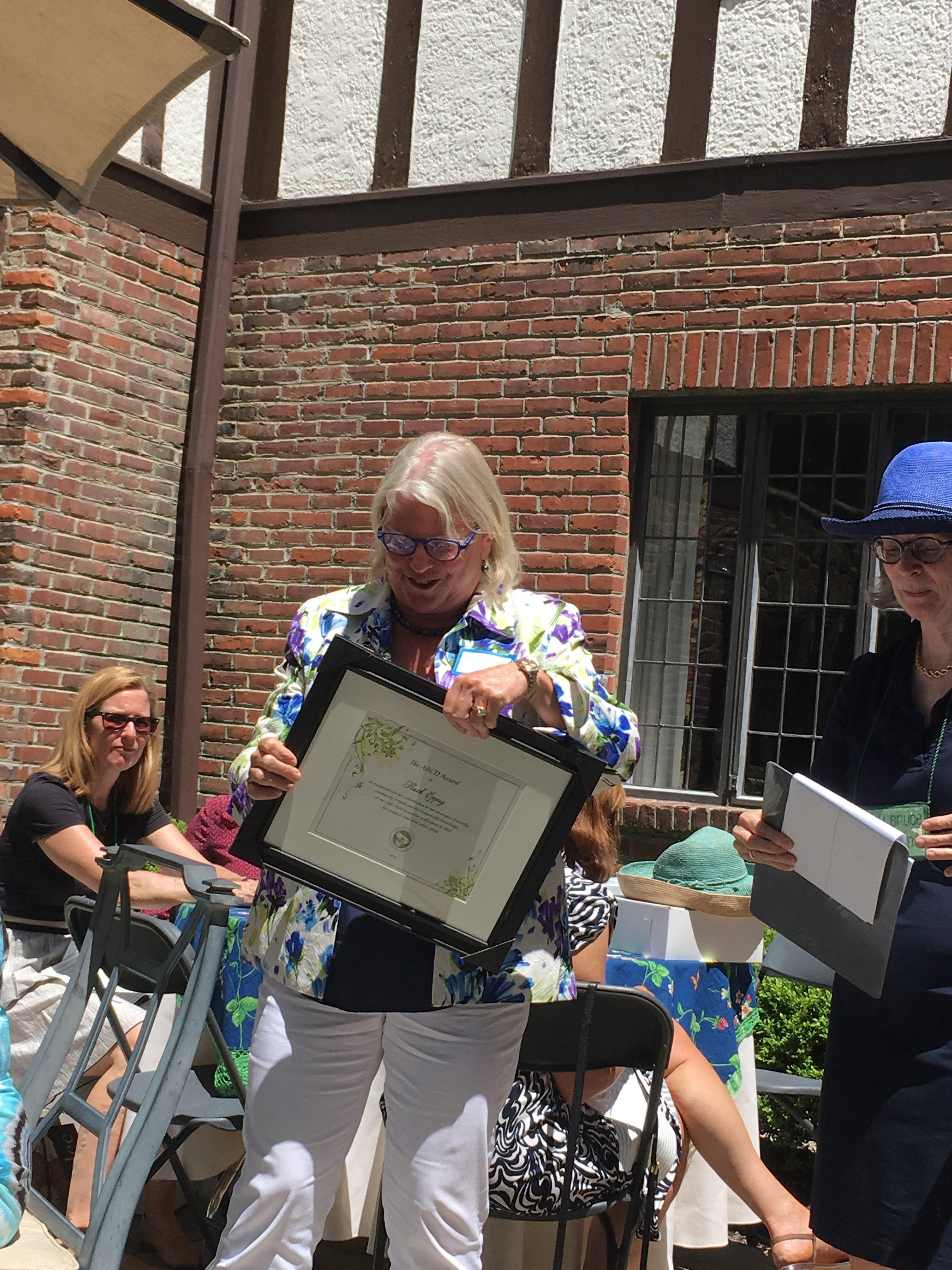 RUTH EPPIG: ABCD Award