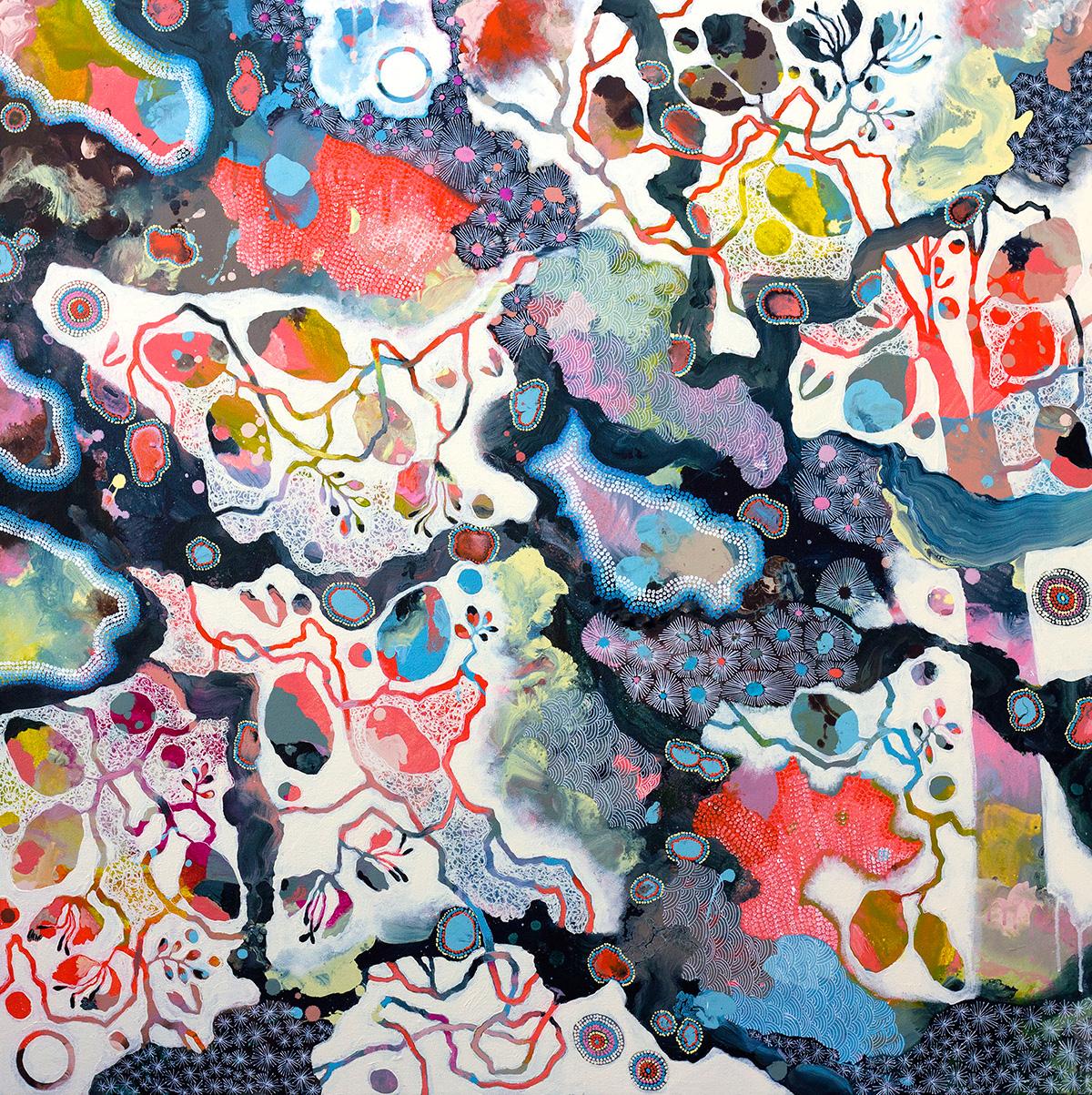 GENTLE WEAVE | 80 x 80 cm $550