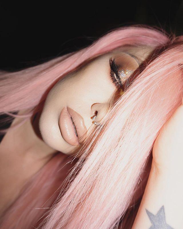 Faded asss pink and I'm hereeee.  @manicpanicnyc #manicpanic #manicpanicpro #manicpanicnyc