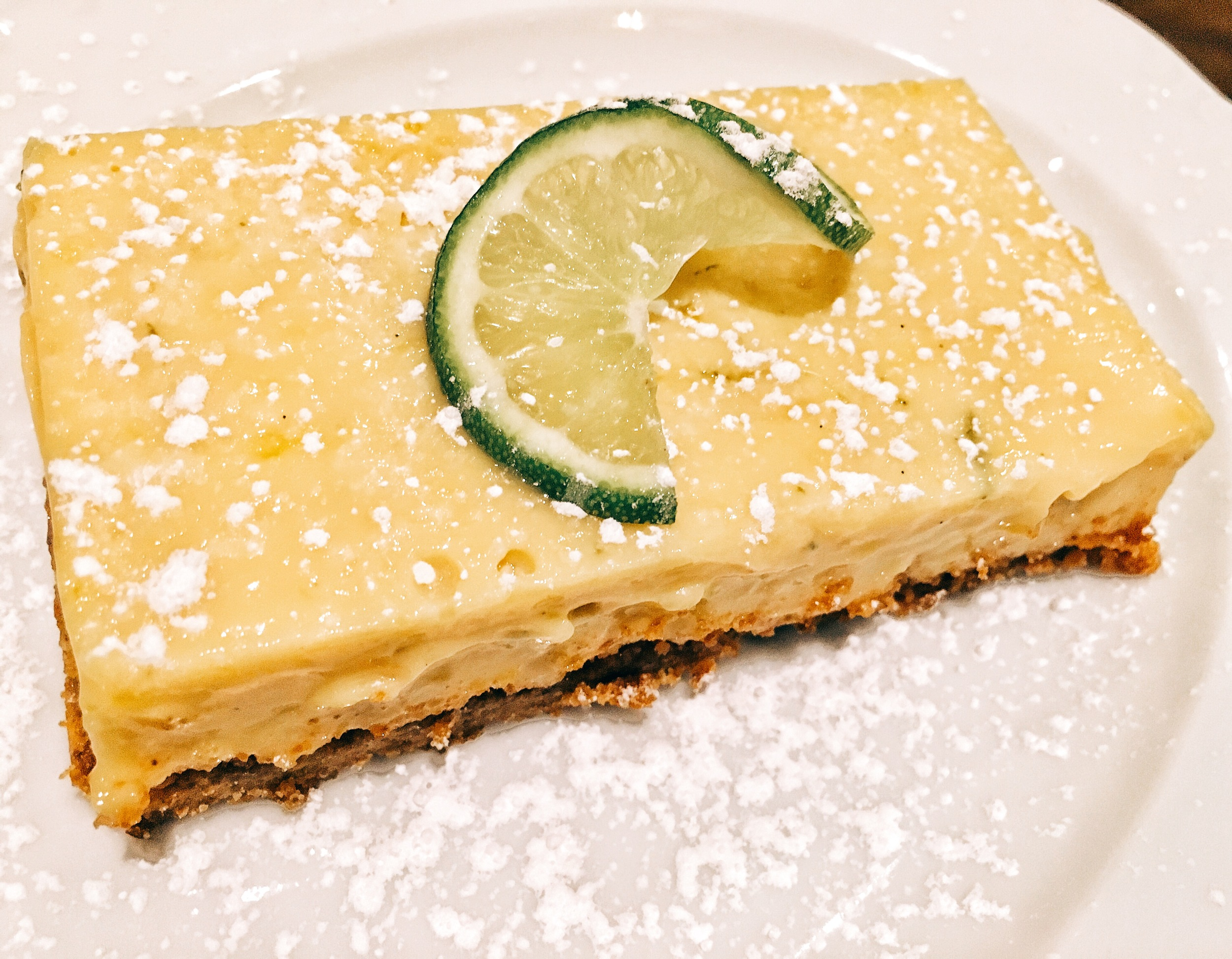 Key lime pie (just like something your grandma would make)