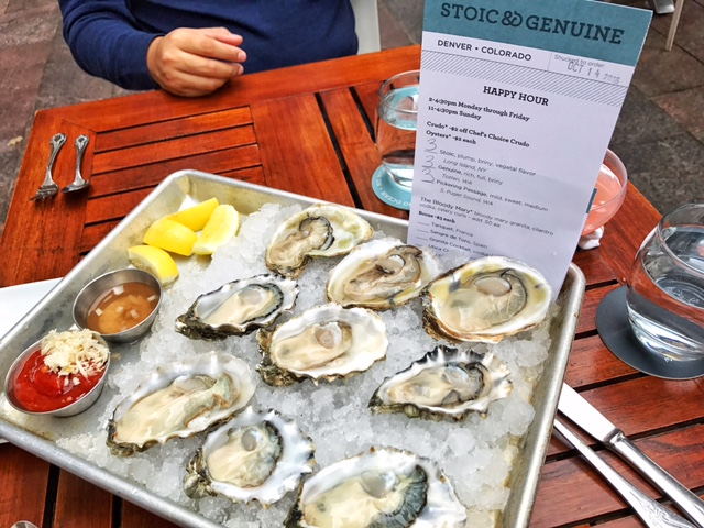 $2 oysters during happy hour