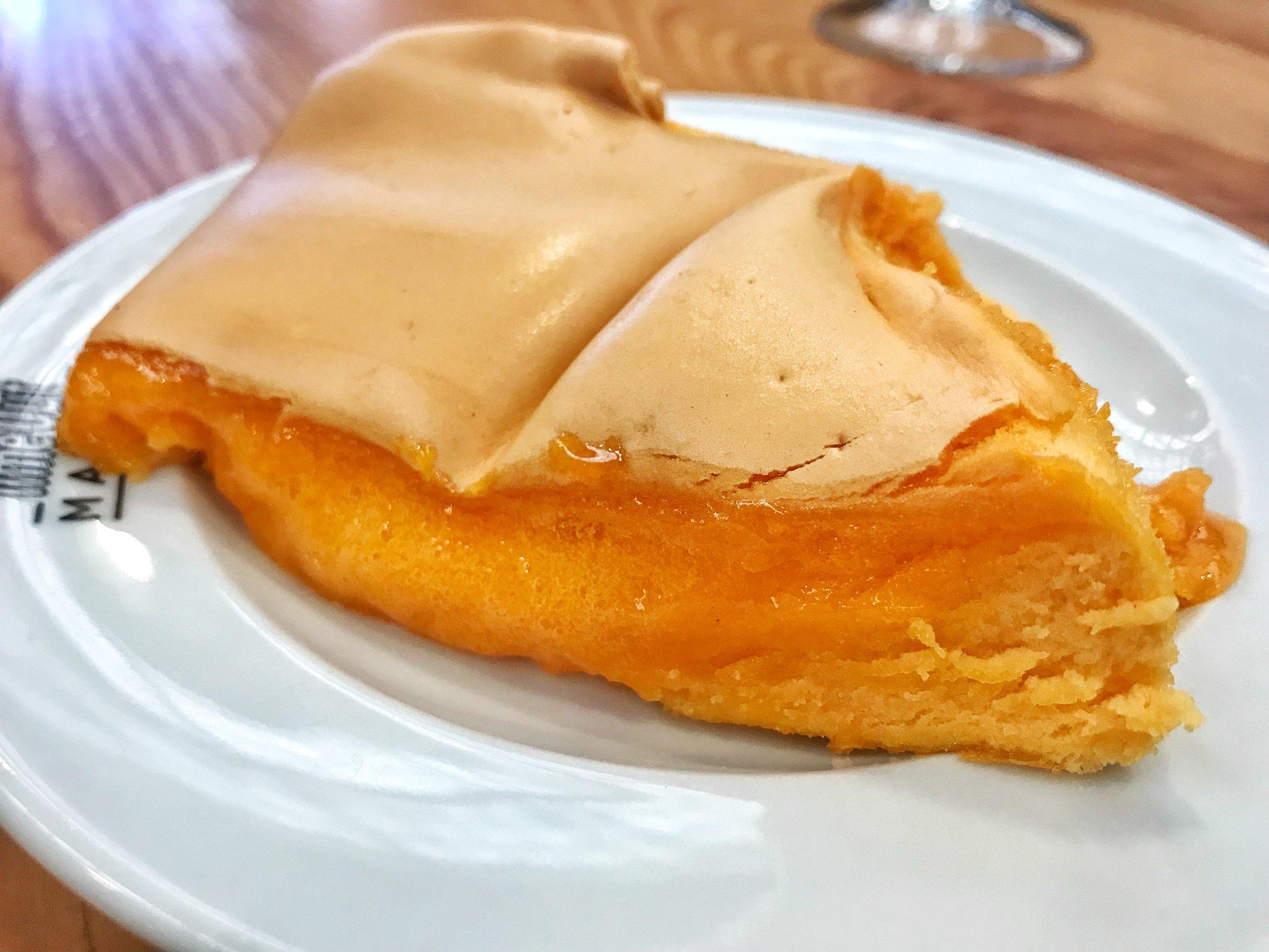 Eggy custard