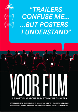 VOOR, dir. Douwe Dijkstra, The Netherlands (DOCUMENTARY) - From the perspectives of a dozen diverse viewers, this 12 minute documentary short explores the peculiar ritual of watching film. How is the medium experienced by people with sensory impairments, strong religious beliefs, or lovesickness? A story about moving images and their audience.