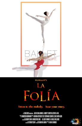 LA FOLÍA, dir. Adam Grannick, USA (NARRATIVE) - The narrative that links La Folía's multiple stories is that of a young ballet dancer who refuses to relinquish her passion for dance just because she's told her body is the wrong shape. The twenty-four stories embody the joy, absurdity, sorrow, fury, and ecstasy she must confront within herself.