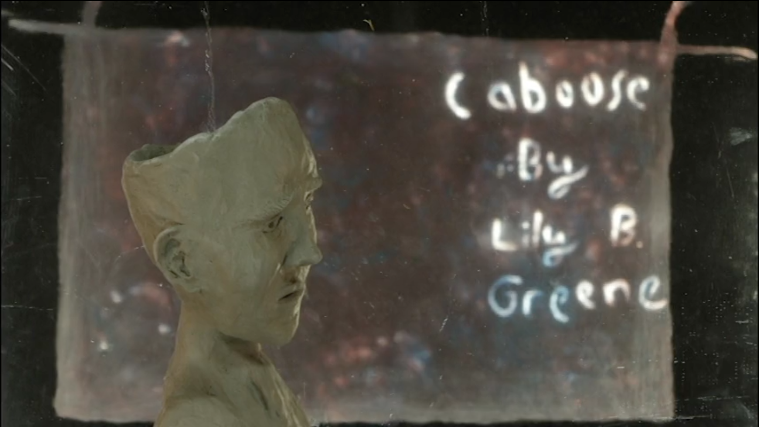 Caboose - Clay and sand animation short on a train ride in a foreign country. Directed by Lily Greene.