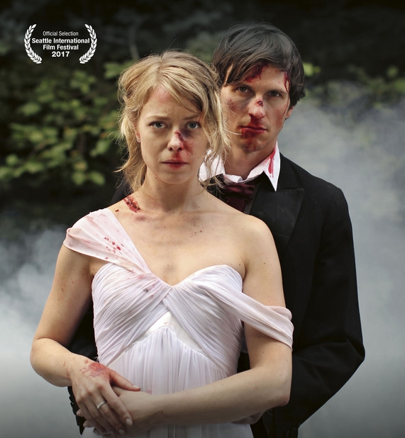 A Swedish Classic - A woman in a tattered wedding gown wakes in the forest to the sound of a deafening car horn. She finds her husband in the crashed car nearby. He's in bad shape but alive. In the wrecked interior, they start to talk about their relationship, which soon seems to be as demolished as their Saab. Directed by Måns Berthas.