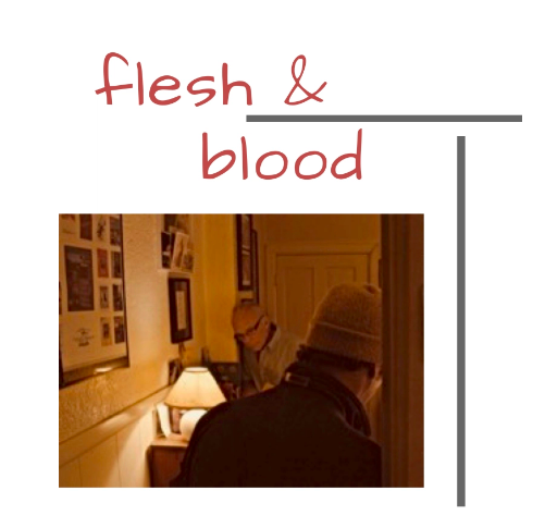 Flesh and Blood - Dir. by Neil Brookshire, United StatesAn estranged son in a life threatening crisis unexpectedly visits his father to ask a single question.