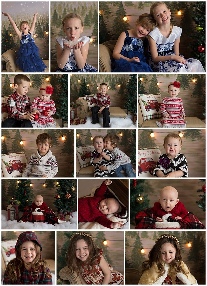I now have an in home studio and we had so much fun breaking it in with these super cute kiddos for indoor mini sessions.