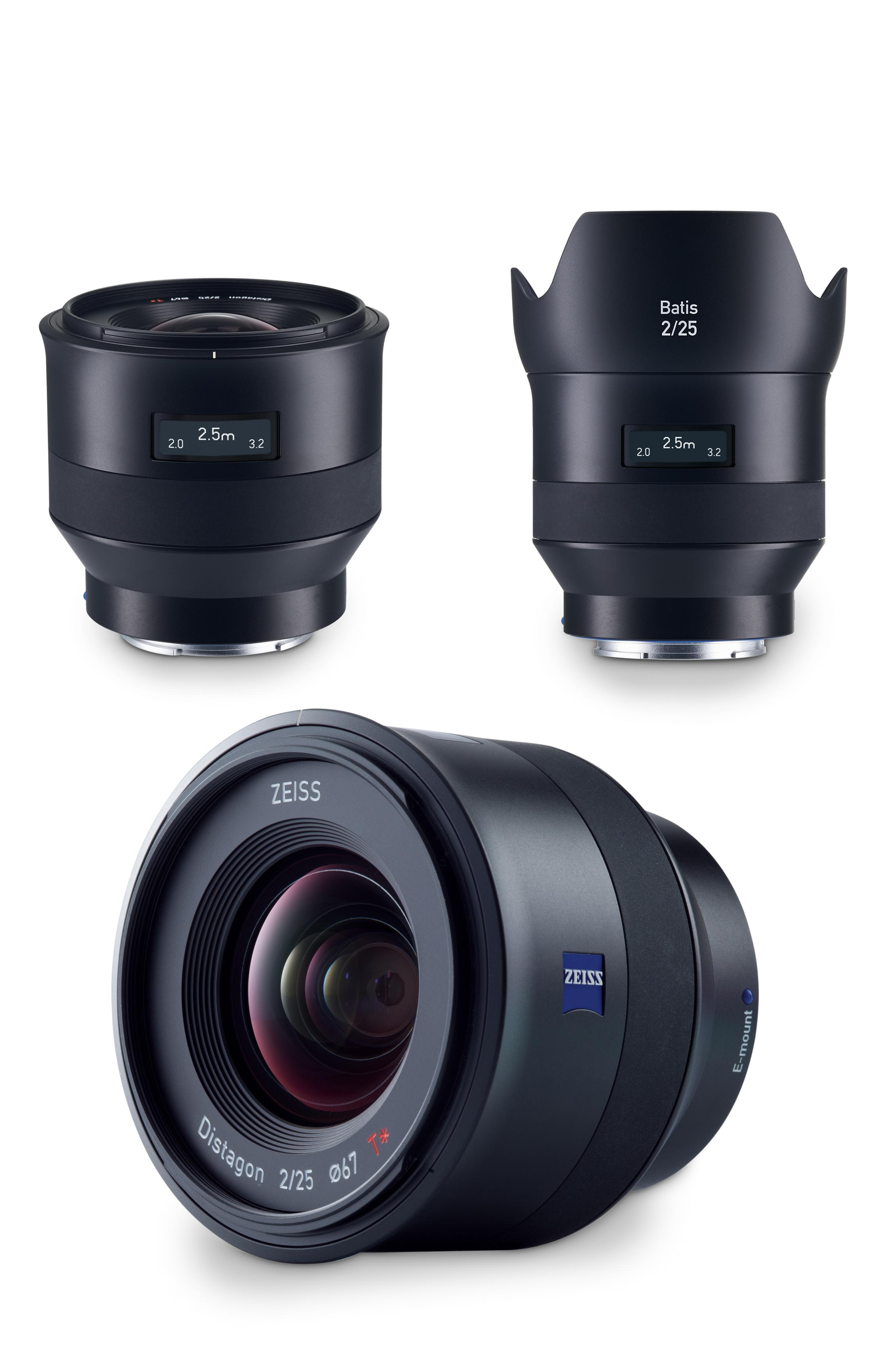 Above: Zeiss Batis 25mm F/2