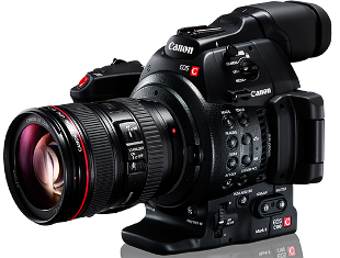 The Canon C300 Mark II