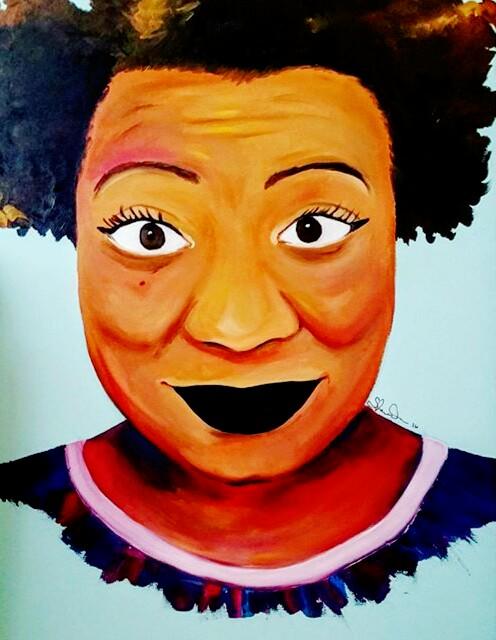 """Sitting Pretty  30 x 40""""  Oil on Canvas  2016"""