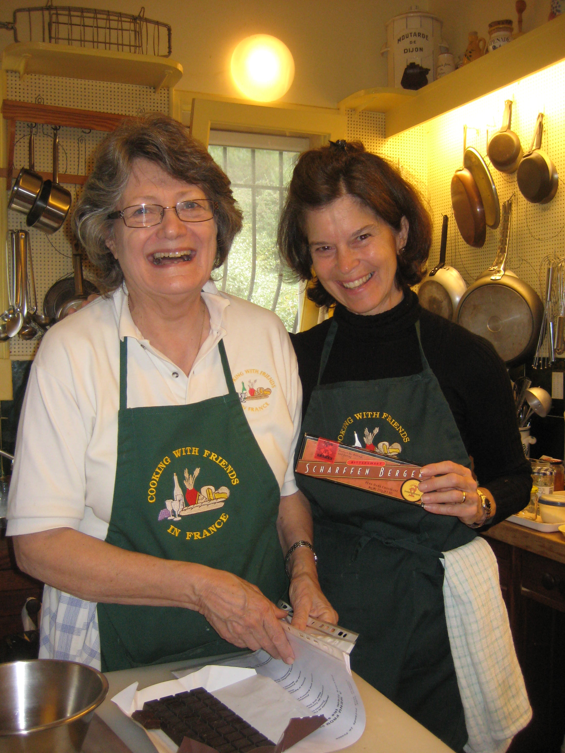 Chef Kathie Alex has hosted Elinor's culinary groups at Julia's former home for nearly ten years!