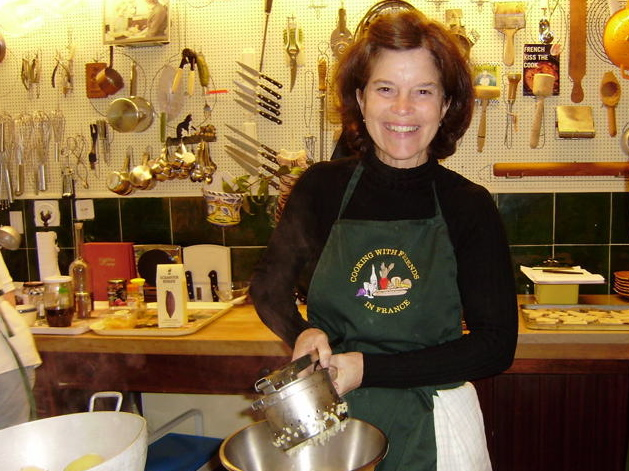 "In a word, what's it like to cook in Julia Child's kitchen? ""AWESOME"" is the unanimous reply!"