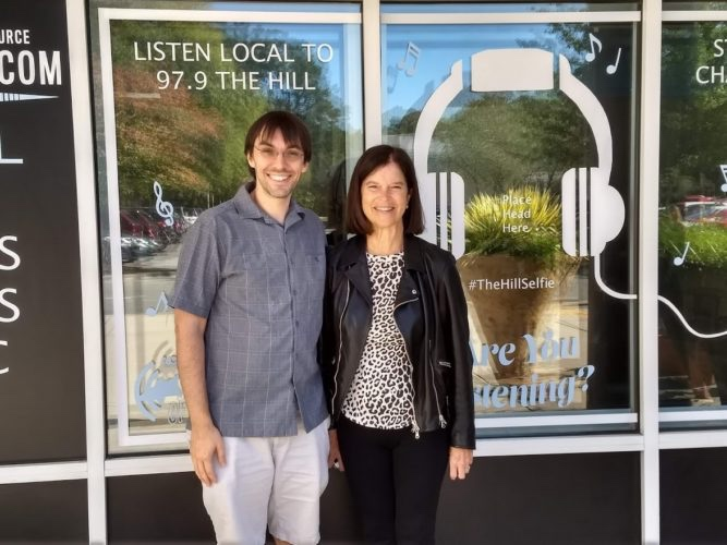 Listen to Elinor Allcott Griffith's interview with Aaron Keck of WCHL