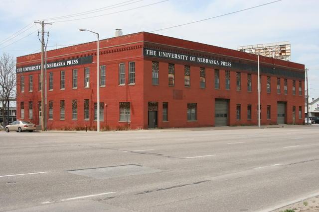UNL Press Warehouse
