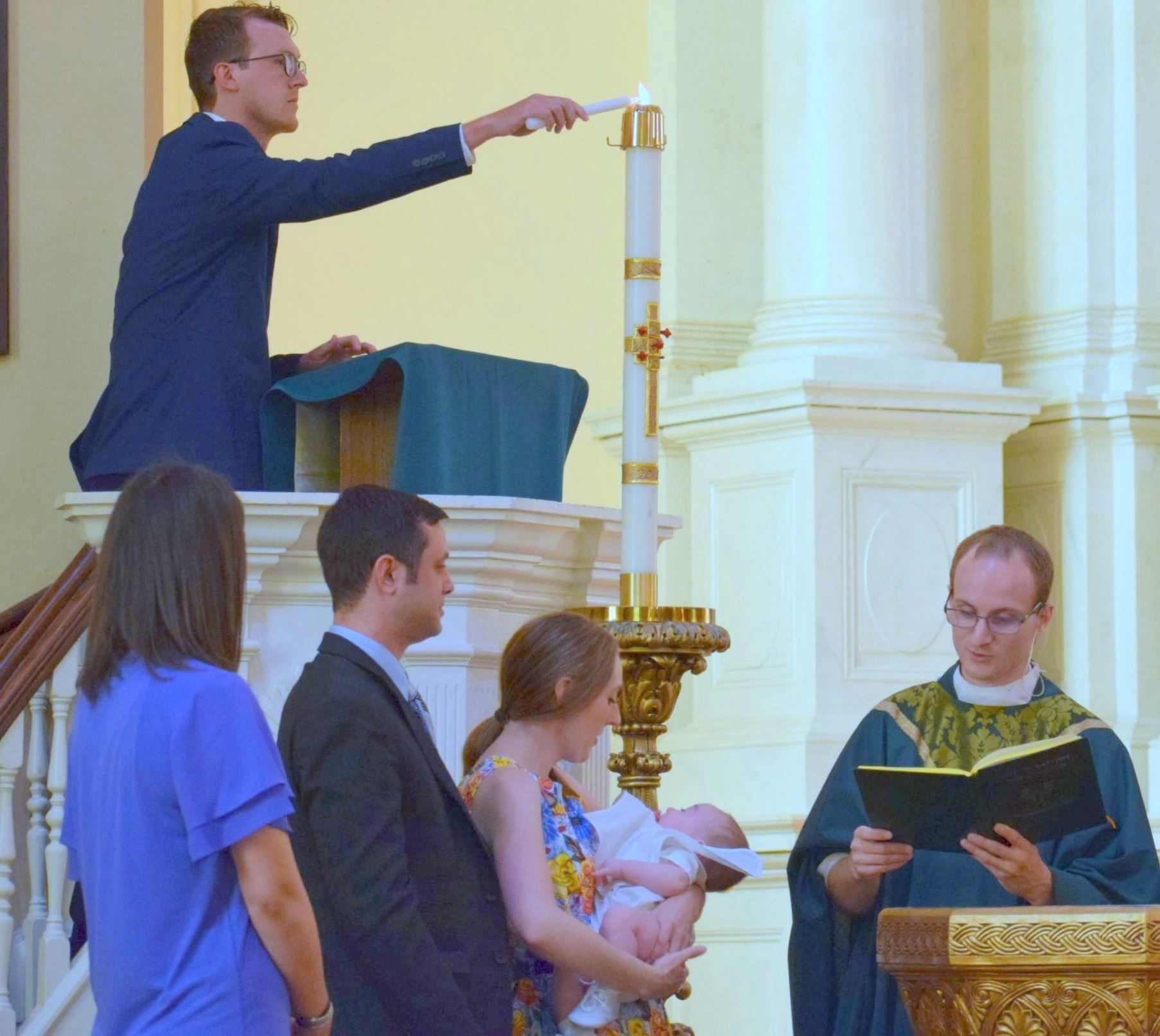 BAPTISM    (Amy Spessard)  en español - send email to    sara.ryan@stjohn-      frederick.org