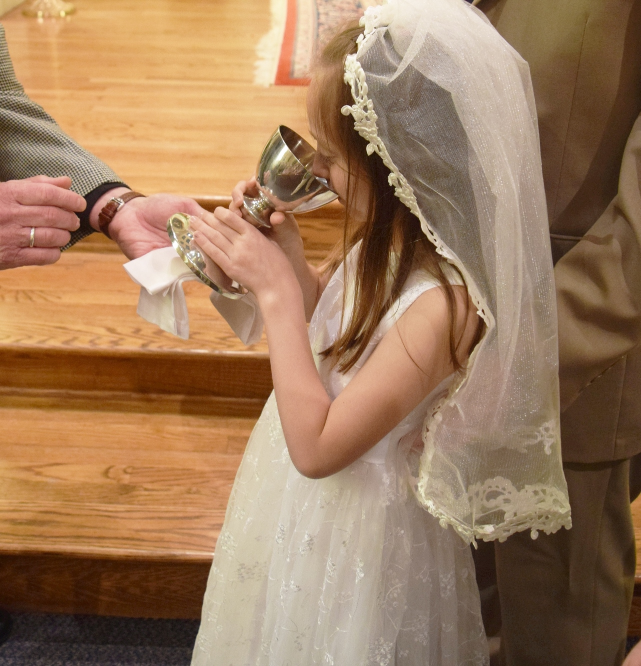 FIRST EUCHARIST    (Amy Spessard)