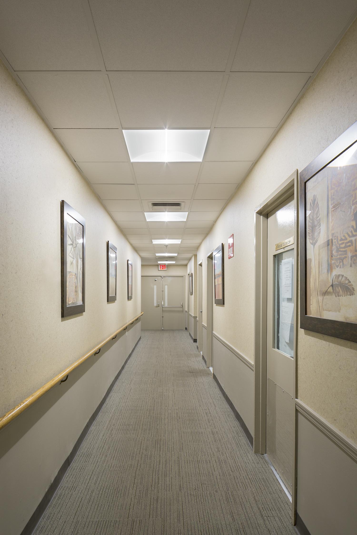 Oakwood Towers Corridor