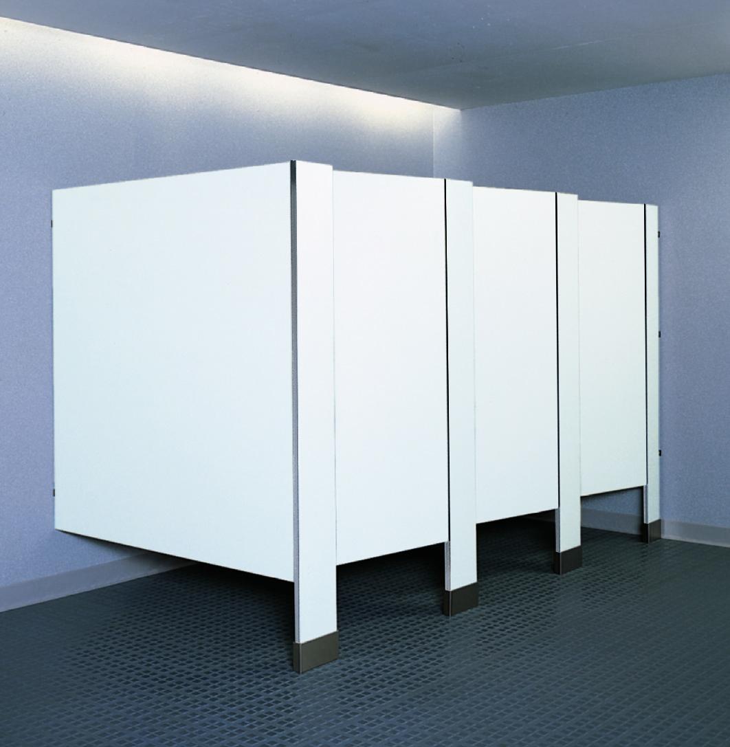 Compact Laminate Toilet Partitions