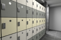 5 Tier Locker System