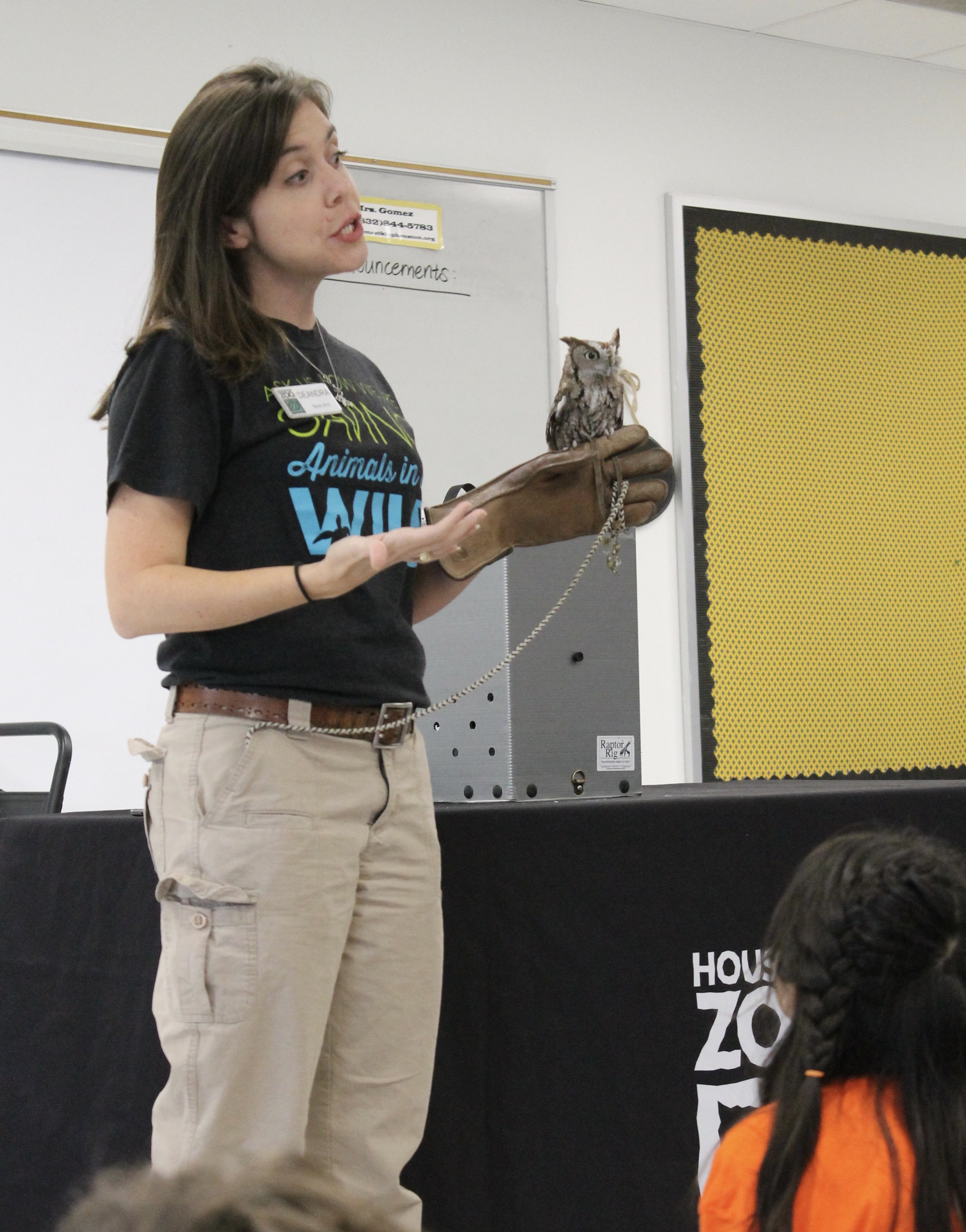 Houston Zoo comes to campus - 5th Grade Science