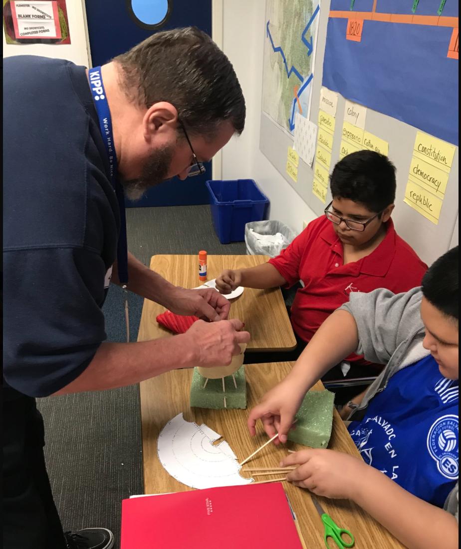 Making tipis - 7th Grade / Architecture and Urban Design