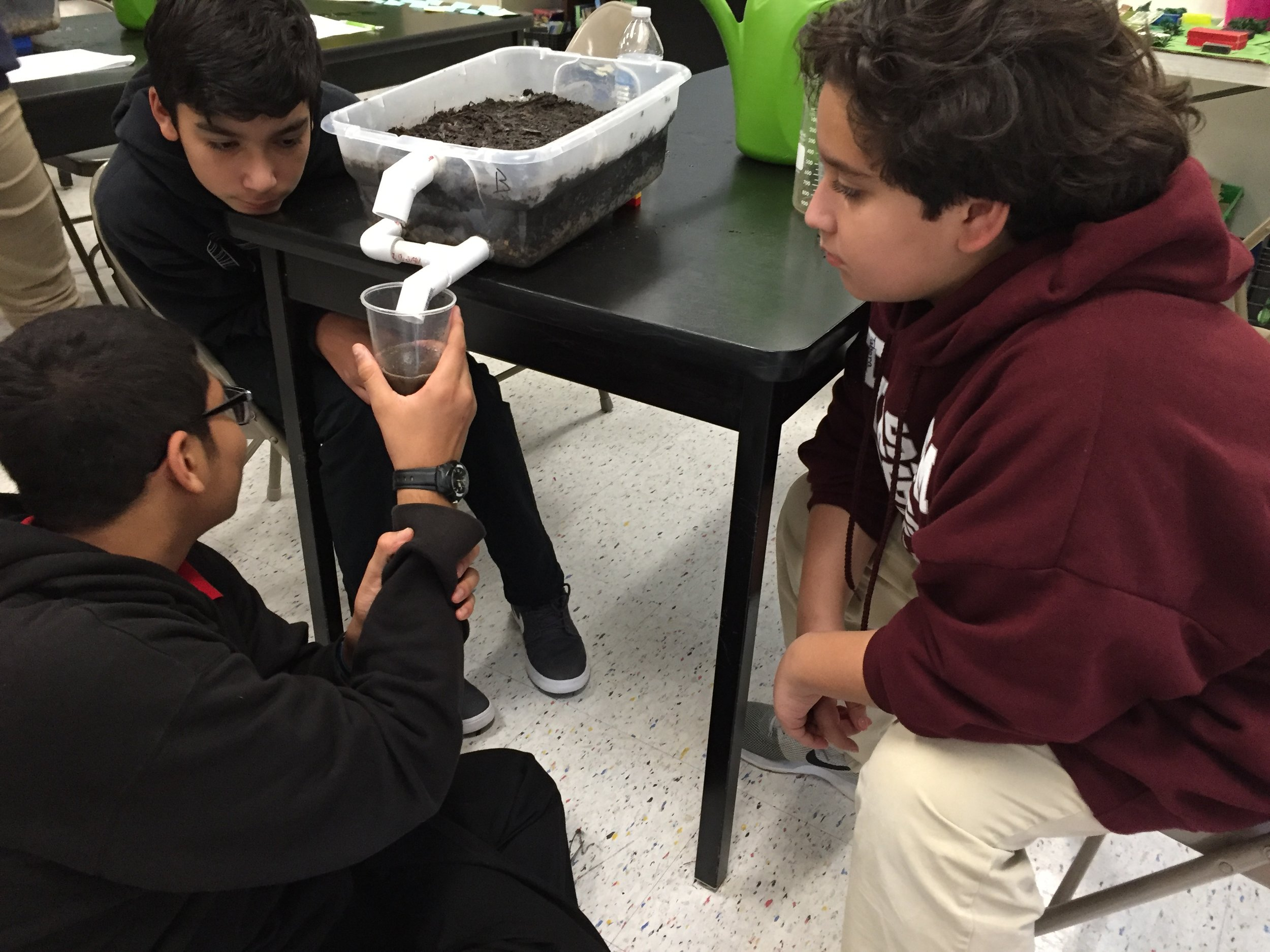Hydrogeology Experiment - 7th Grade / Architecture and Urban Design