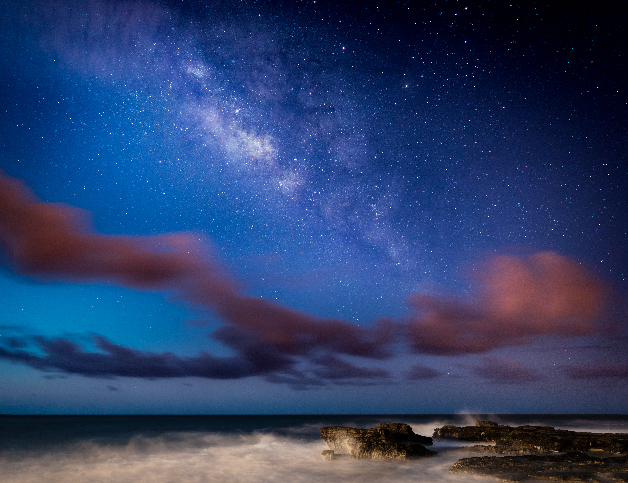 SANDY BEACH PARK & THE MILKY WAY...03.12.16 2 IMAGE PANO STITCH IN LIGHTROOM / EDITED IN LIGHTROOM & PHOTOSHOP CC 2015 SONY A7S II / ZEISS BATIS 25MM F/2 / 30 SEC. / F/2 / ISO 1000