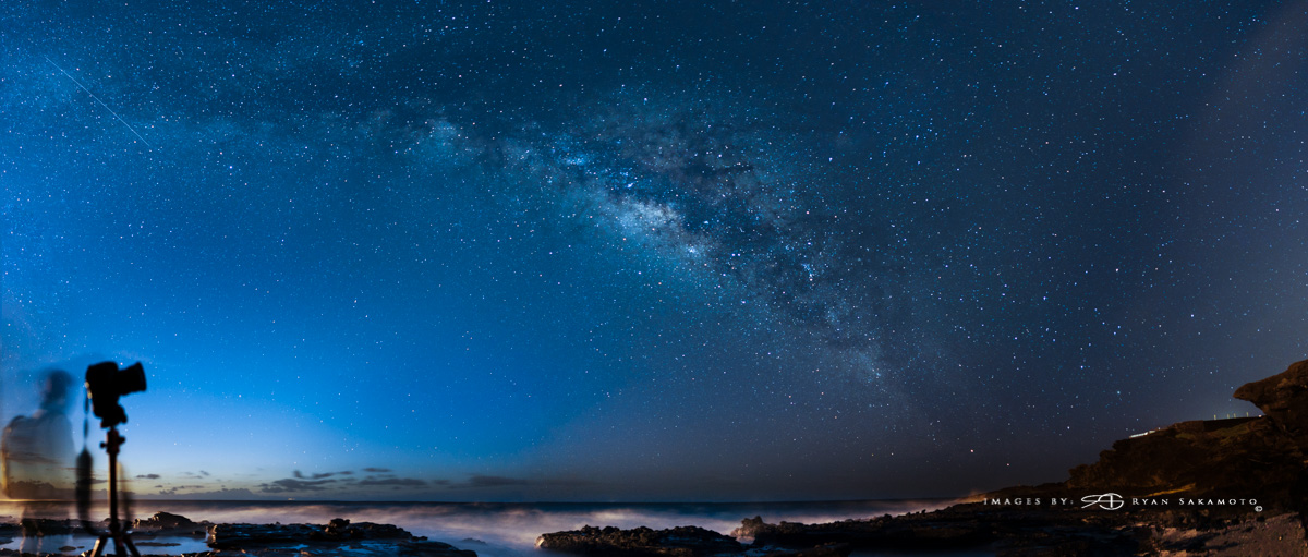 THE MILKY WAY AT SANDY BEACH PARK...03.13.16 10 IMAGE PANO STITCH IN LIGHTROOM | EDITED IN LIGHTROOM & PHOTOSHOP CC 2015 SONY A7S II | ZEISS BATIS 25MM F/2 | 20 SEC. |F/2 | ISO 1600