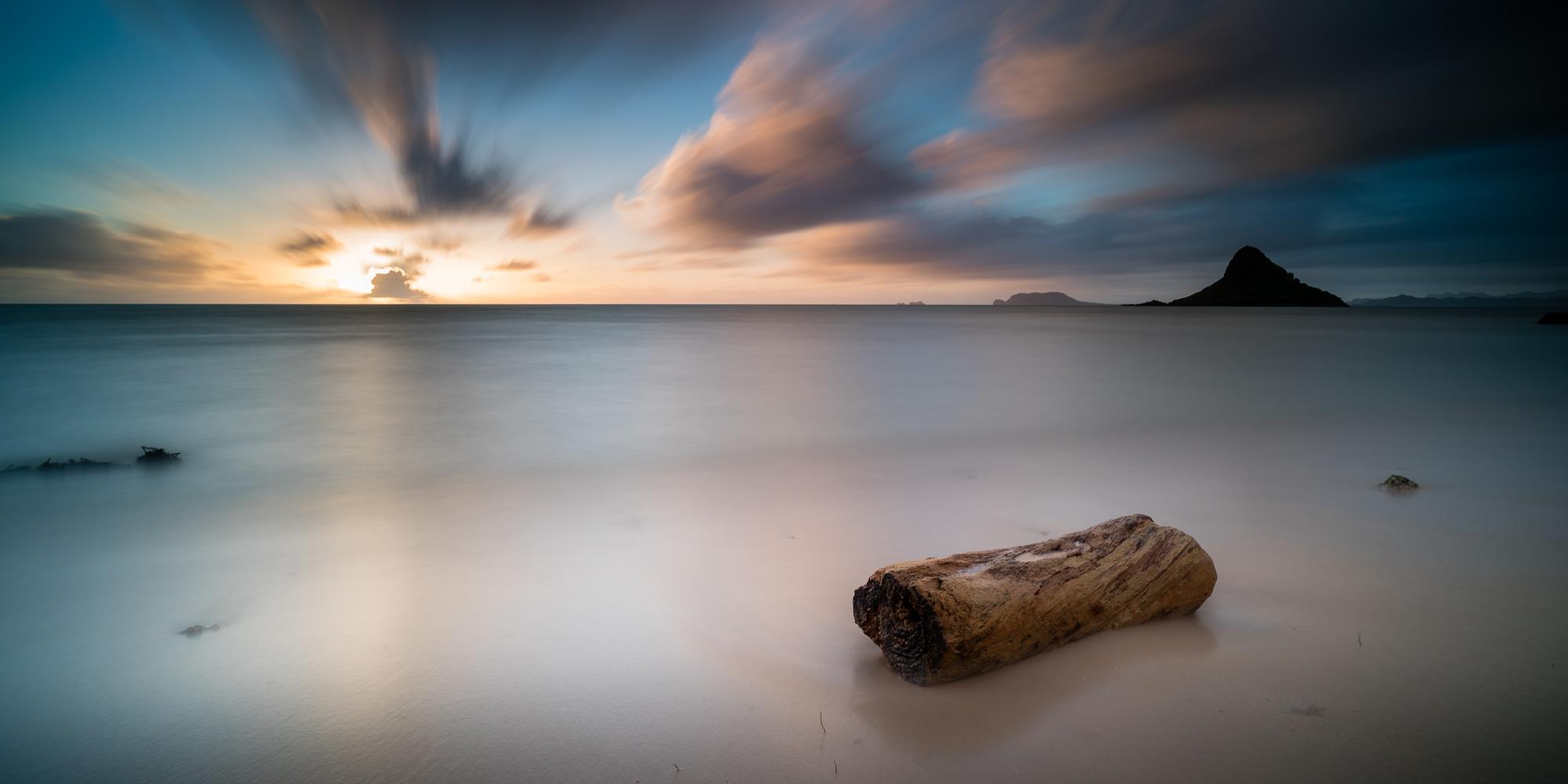 Kualoa Beach Park Lee Filter Big Stopper & 3 stop medium grad Sony A7S II |  181 sec. |  f/8  |  ISO 50  |  Zeiss Batis 18mm  Edited in Lightroom CC 2015  Copyright 2016 Ryan Sakamoto, All rights reserved