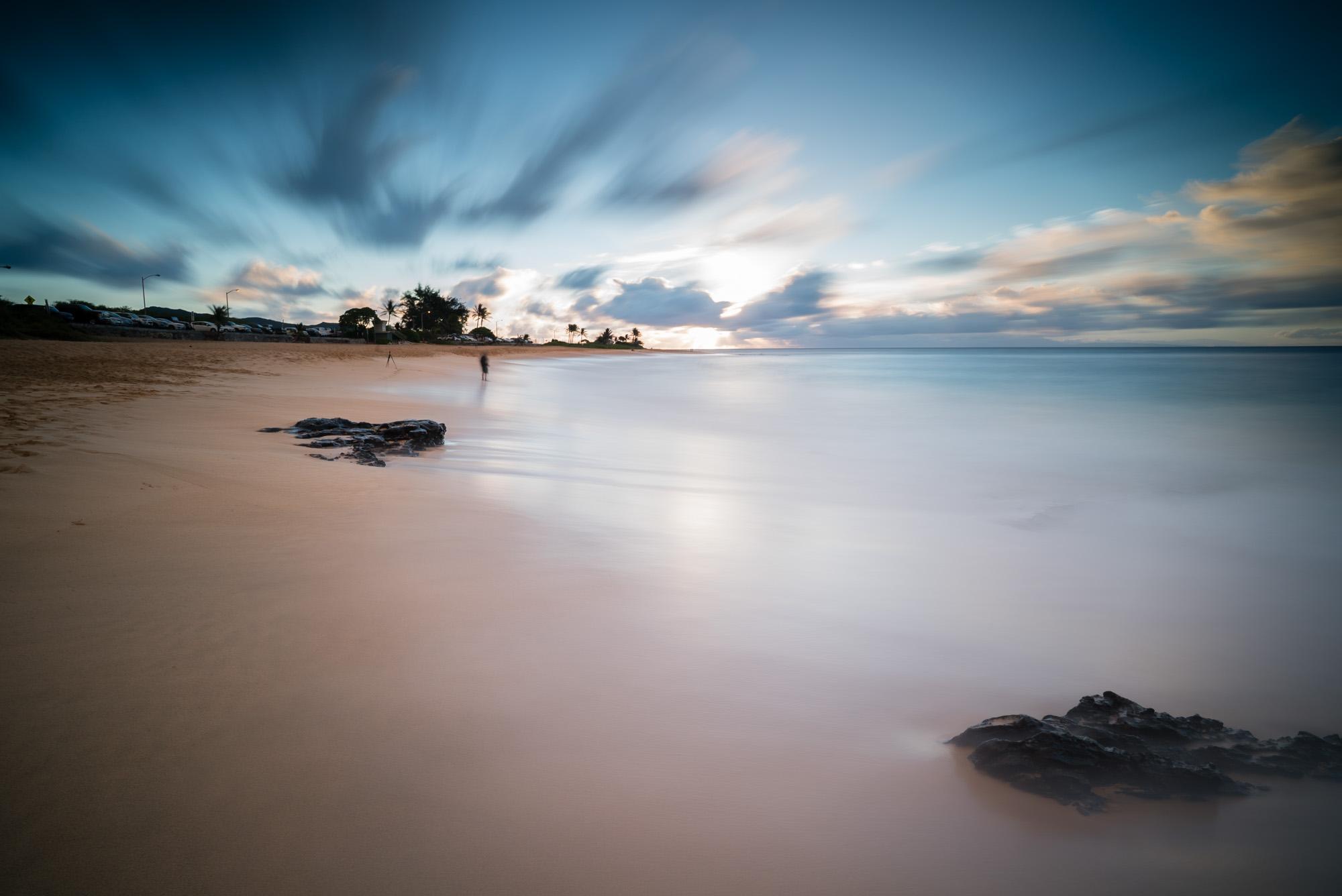 Sandy Beach Park Lee Filter Big Stopper & 3 stop medium grad Sony A7S II    121 sec.    f/8     ISO 50     Zeiss Batis 18mm  Edited in Lightroom CC 2015  Copyright 2016 Ryan Sakamoto, All rights reserved