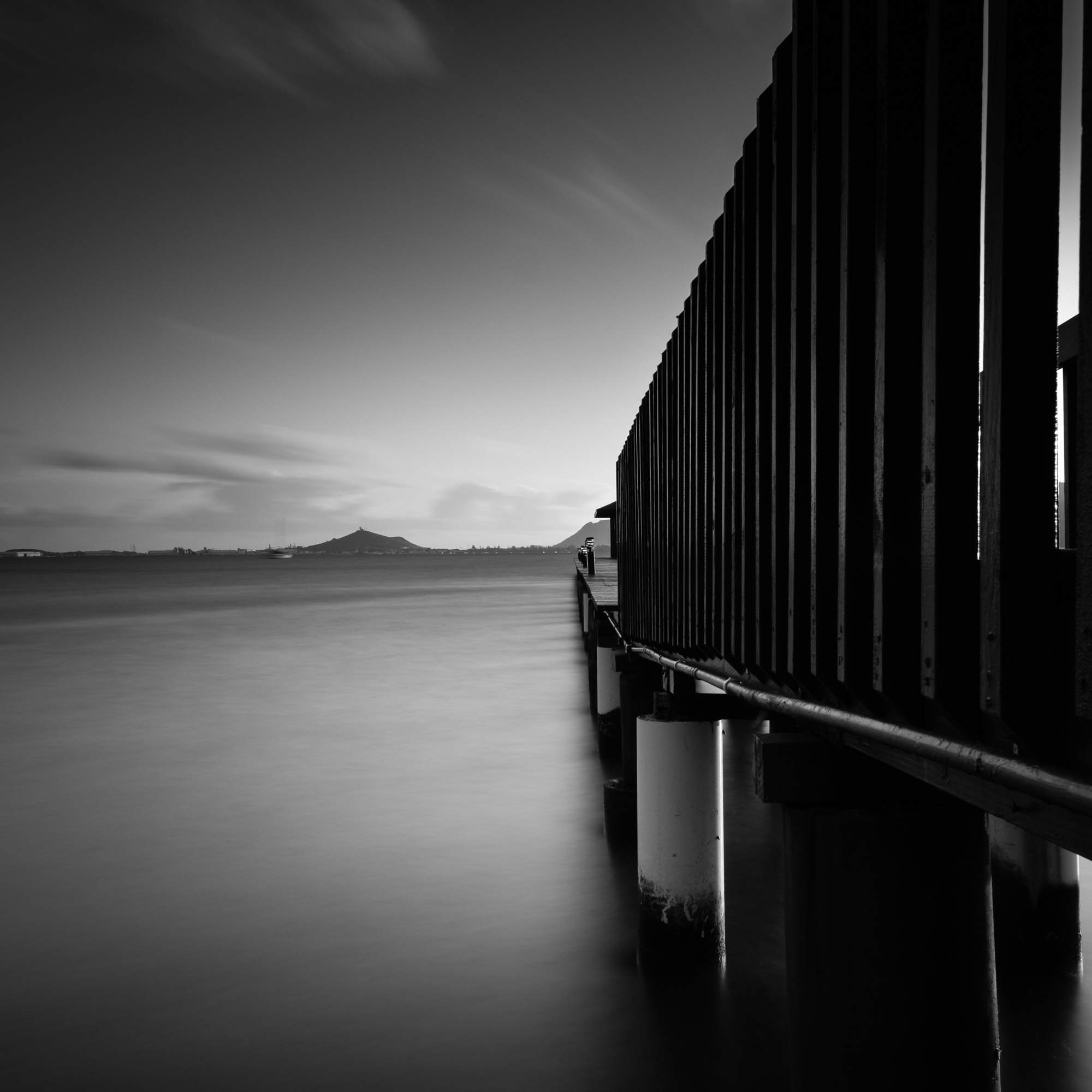 Kaneohe Beach Park Lee Filter Big Stopper & 3 stop medium grad Fujifilm XPRO2  |  60 sec. |  f/11 |  ISO 50  |  Fujifilm XF 16mm F/1.4 R WR  Edited in Lightroom CC 2015  Copyright 2016 Ryan Sakamoto, All rights reserved